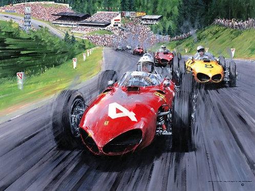 Shark Attack - Belgium GP 1961 Spa