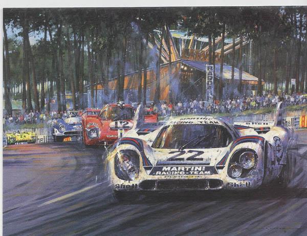 Nicholas Watts Porsche Le Mans 1971