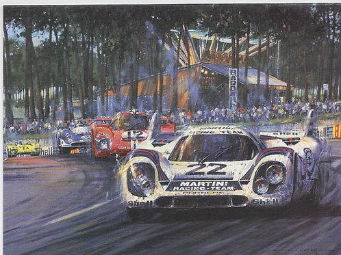 Le Mans 1971 - Martini Porsche 917