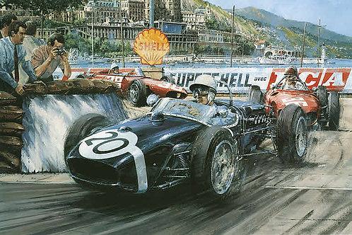 Monaco G.P. 1961 - Lotus 18