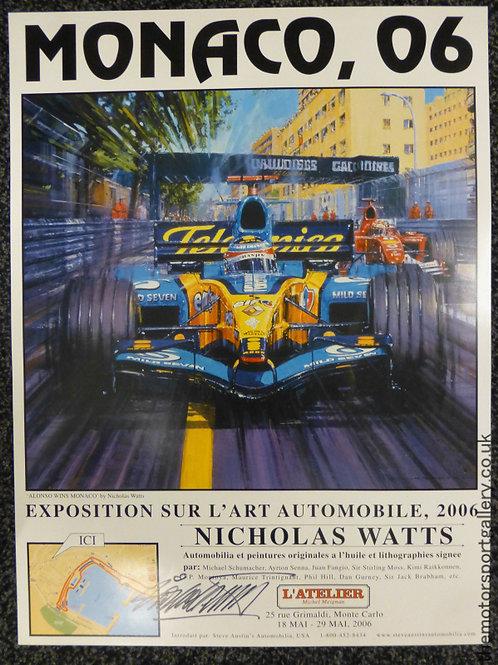 Monaco 2006 Exhibition Poster