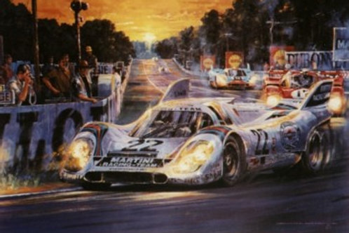 As Darkness Beckons - Le Mans 1971