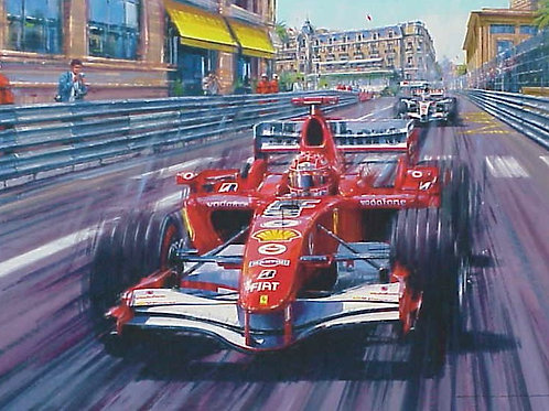 Farewell to the Champion - Monaco G.P. 2006