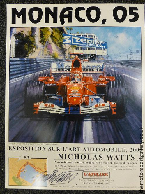Monaco 2005 Exhibition Poster