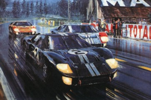 Formation Finish - Le Mans 1966