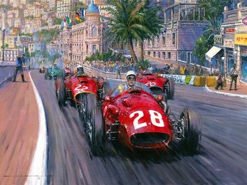 Dominant Moss - Monaco Grand Prix 1956