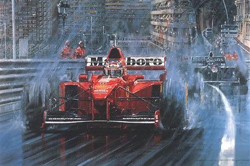 Schumacher Reigns Supreme - Monaco G.P. 1997