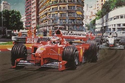Schumacher Triumphant - Monaco G.P. 1999