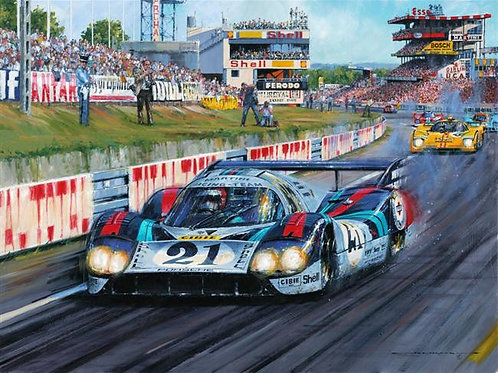 Langhecks at Le Mans 1971