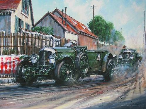 British Pride - Le Mans 1930