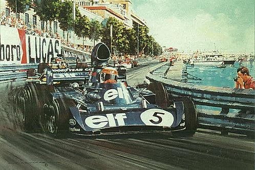 Monaco G.P. 1973 - Tyrrell 006