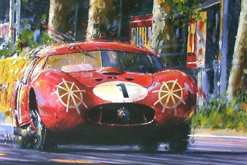 Blood Red & Thunder - Le Mans 1957