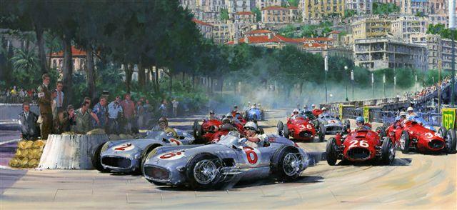 Nicholas Watts1st Corner Monaco 1955