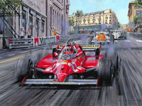 Villeneuve - Monaco G.P. 1981
