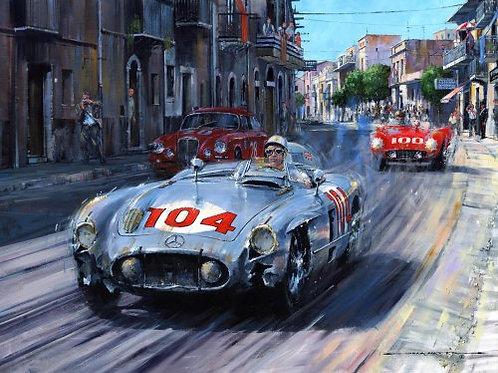 Battered but Defiant - Targa Florio 1955