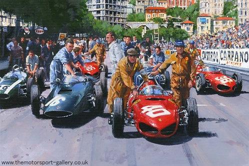 Onto the Grid - Monaco G.P. 1961