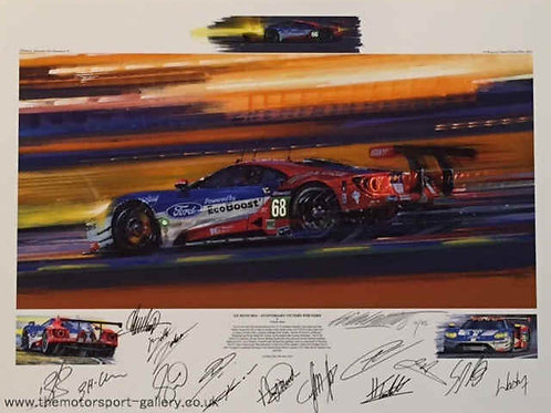 Le Mans 2016 - Anniversary Victory for Ford