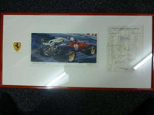 Lorenzo Bandini Monaco 1967 Original