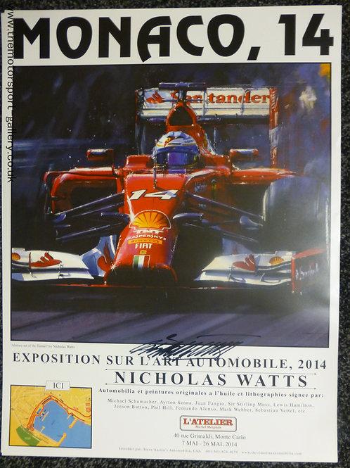 Monaco 2014 Exhibition Poster
