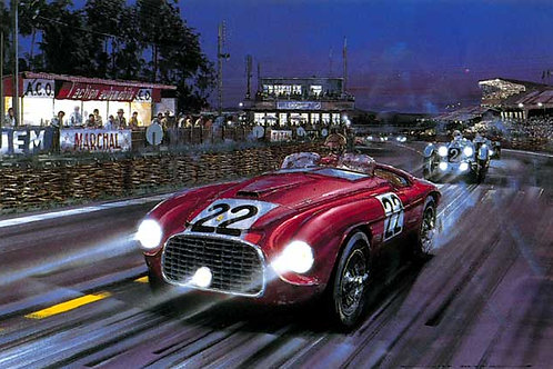 Victorious Debut - Le Mans 1949