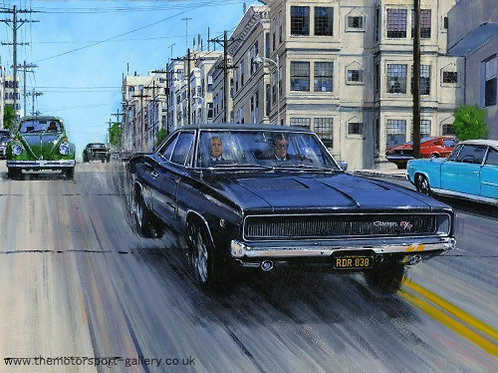 Chasing the Charger - Dodge Charger 1968
