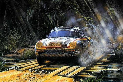 Paris Dakar 1986 - Porsche 959