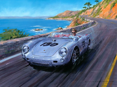 The Little Bastard - Porsche 550 Spyder