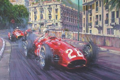 Moss-Maserati-Monaco - 1956