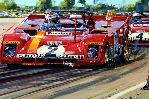 Seeing Red -  Sebring 1972