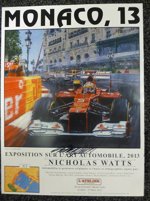 Monaco 2013 Exhibition Poster