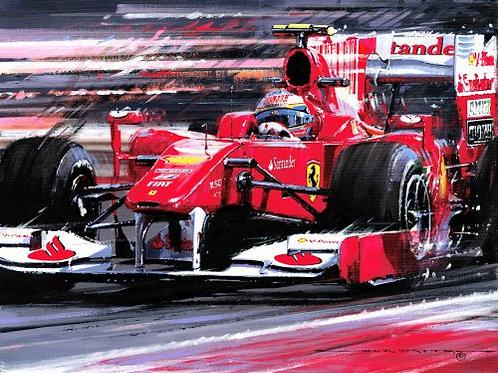 Alonsos Ferrari - Ferrari F10 Bahrain 2010