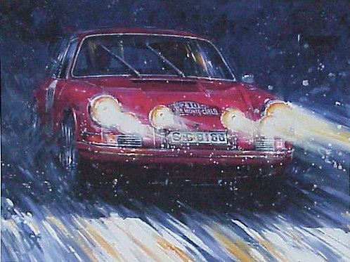 Porsche Victory - Monte Carlo 1968