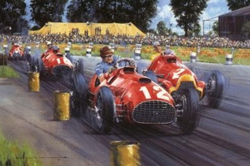 Ferrari - The 1st Grand Prix Victory - Silverstone