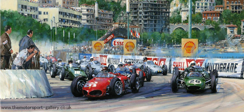 1st Corner Monaco 1961
