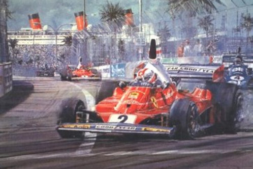 Regazzoni - Long Beach G.P. 1976