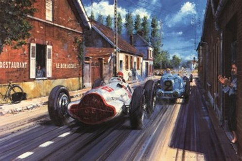 Champagne Victory - Reims G.P. 1938