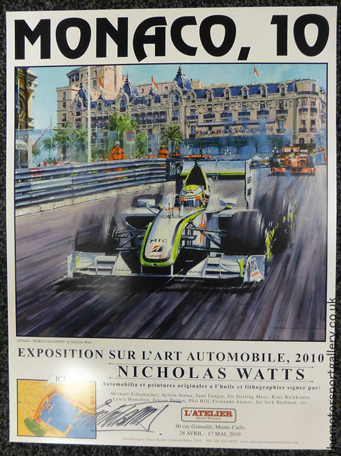 Monaco 2010 Exhibition Poster