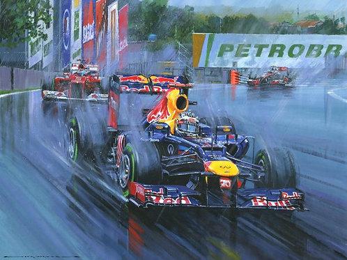 Triple World Champion - Sebastian Vettel