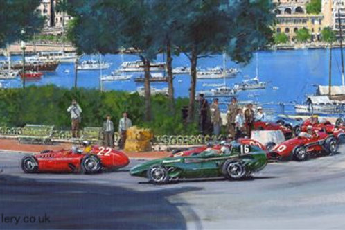 1st Corner Monaco 1956