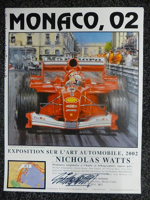 Monaco 2002 Exhibition Poster