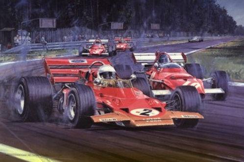 Tribute to Jochen Rindt - Hockenheim 1970