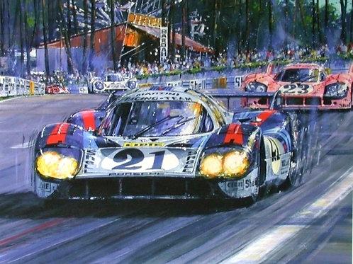 Thunder Through the Esses - Le Mans 1971