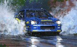 NW168 Solberg Subaru WRC 2003