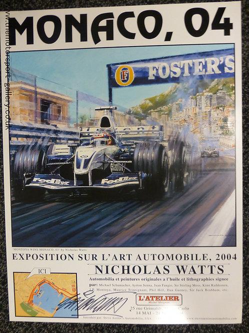 Monaco 2004 Exhibition Poster