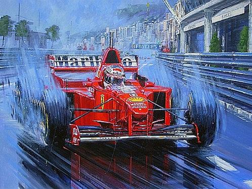 The Rain King - Monaco G.P. 1997