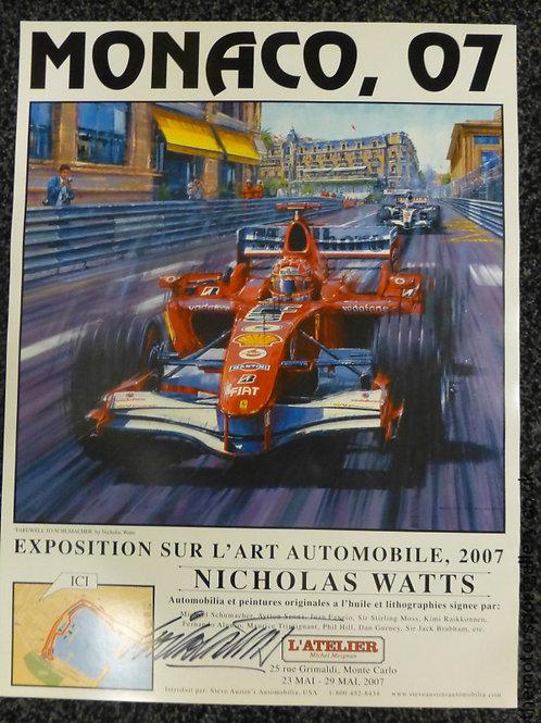 Monaco 2007 Exhibition Poster