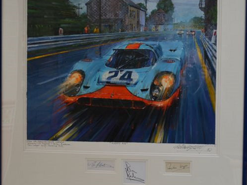 Gulf Porsche 917 - 1970 Spa 1000km