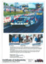 Langhecks at Le Mans Certificate