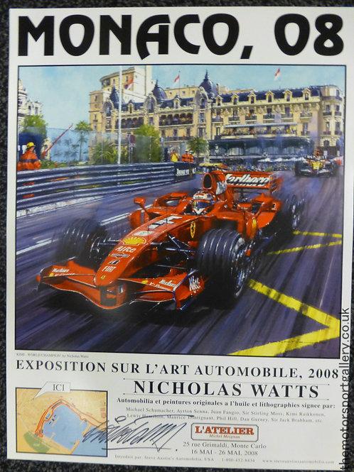 Monaco 2008 Exhibition Poster