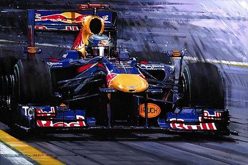 Raging Bull - Sebastian Vettel